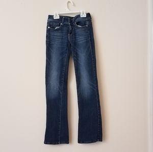 American Eagle stretch original boot cut jeans 0